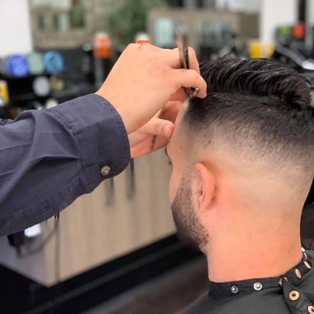 skin fade cool cuts barbering