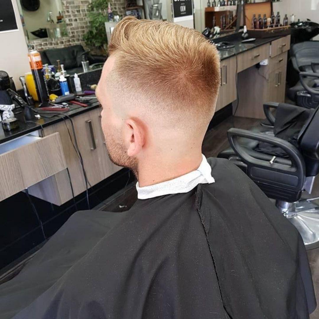 skin fade cool cuts blonde